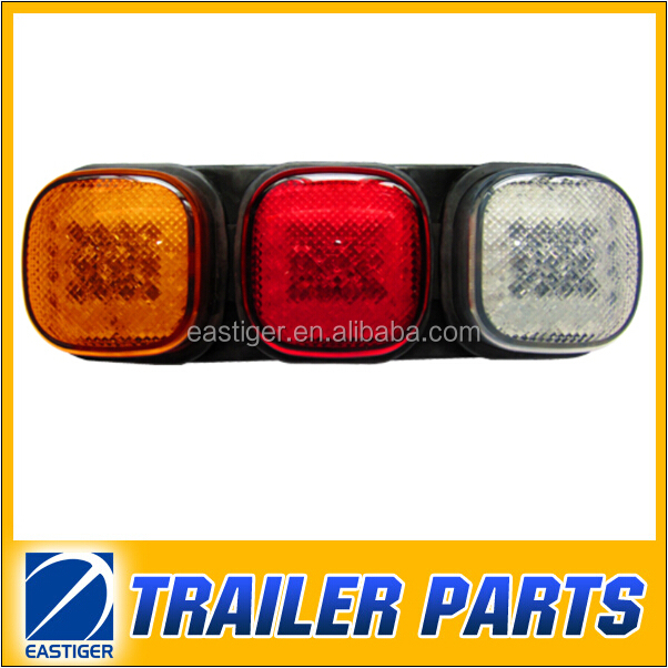 LED tail lamp for trailer parts