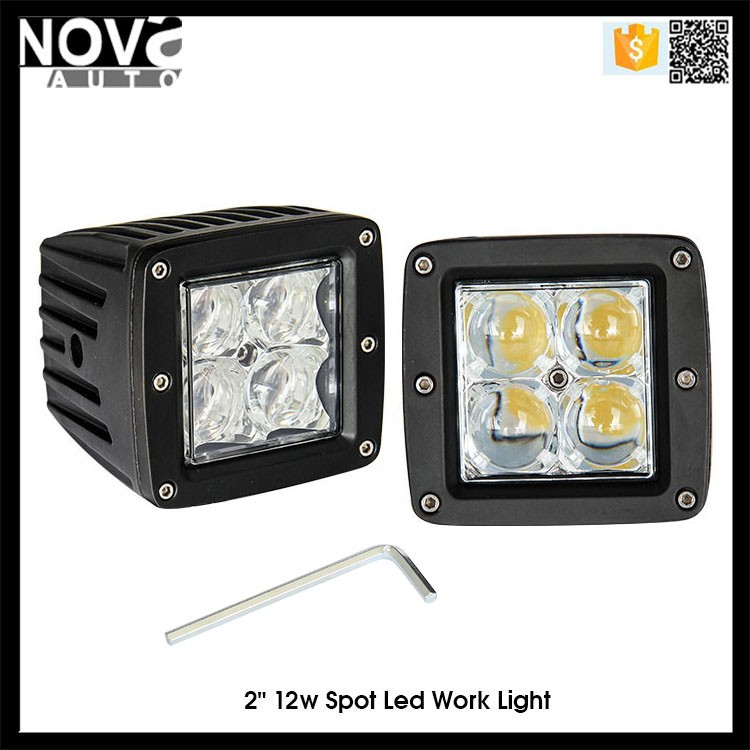 4x4 led work light 12w crees led work light crees 16w bulb car work light led 12v