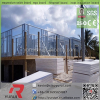 Waterproof Magnesium Oxide Board Substitute for Cement