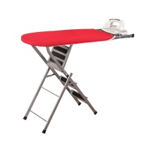 Vivinature portable ladder with cotton cover mesh ironing board