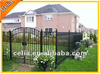 Chic aluminum metal retractable fencing