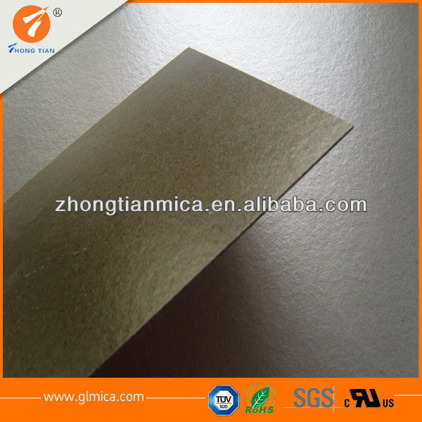 gold rigid mica sheet