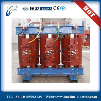 1000kva 11/0.415kv Dry Transformer with Cast Resin 2 Winding