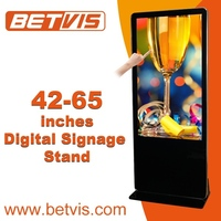 Appealing hd touch lcd advertising media player