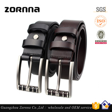 Vegetable Tanned Leather Top Layer Cowhide Leather Wholesale Designer Man Waist Genuine Leather Belt
