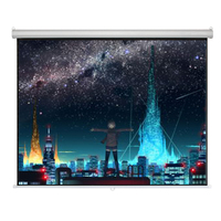 16:9 made-in-china large wall screens for projectors