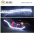 car flexible switchback led crystal daytime running light with flow