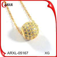 2015 gold covering fashion jewellery ladies fashion necklace jewelry