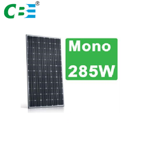 Industrial China manufacture mono grade a solar cell high voltage solar panels
