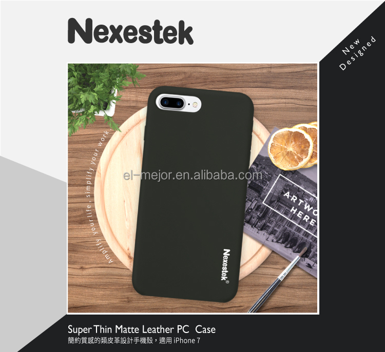 Nexestek Taiwan High Quality Ultra-Thin Black Case for iPhone 7/ iPhone 7 PLUS