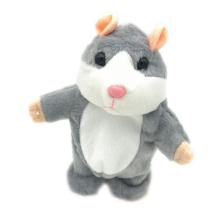 2020 lovely electronic Plush Toy talking repeat hamster <strong>Animal</strong> Toys record Talking hamster