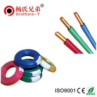 Low Voltage 450/750V BV Single Core Electric Cable