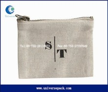 custom design zipper cloth pouch