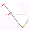 long steel handel scythe and snath