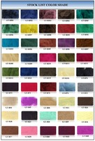 recycled non-siliconized polyester staple fiber dope dyed 1.5d*38mm made from pet flakes