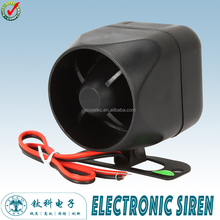 TES-58 Ningbo TECO 12V Wired Alarm Siren Horn for Shop / Office / Home and Any Other Hazardous Areas Security Protection