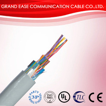 telephone cable indoor 0.5mm/0.4mm 50 pair telephone cable