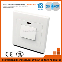 Free samples,C1 Series wall switch and socket 1 gang 1 way or 2 way water heater switch,wall switch with low price