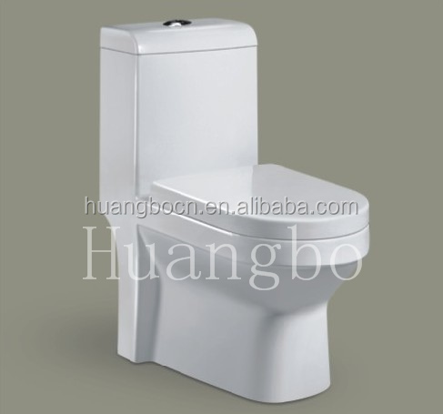 G-310 White Chaoan mini portable one-piece sitting toilet