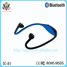 Stereo Bluetooth Earphone With Working Range 10m Standby Time 150Hrs sport bluetooth earbuds