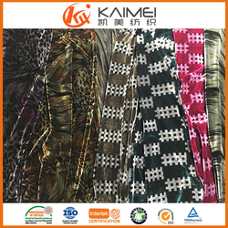 China Wholesale spun discharge printing polyester fabric printing