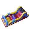 kids mini castle inflatable obstacle course for sale/fun inflatable castle jumping obtacle