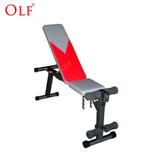 Customized home gym ab bench incline bench press