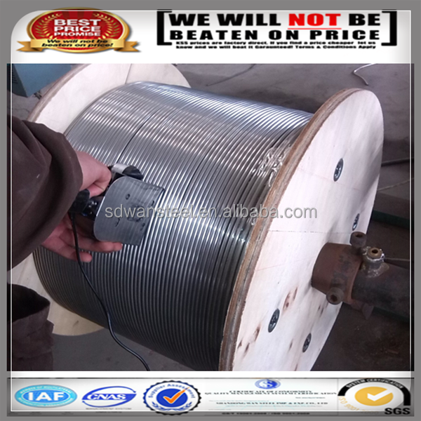 SUS304 stainless steel coiled tube/tubing/pipe