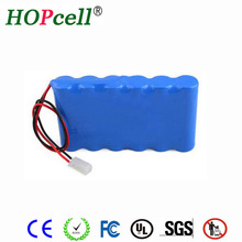 Deep cycle 8ah 10ah 12ah 15ah 20ah lithium ion 24v battery pack from HOPcell
