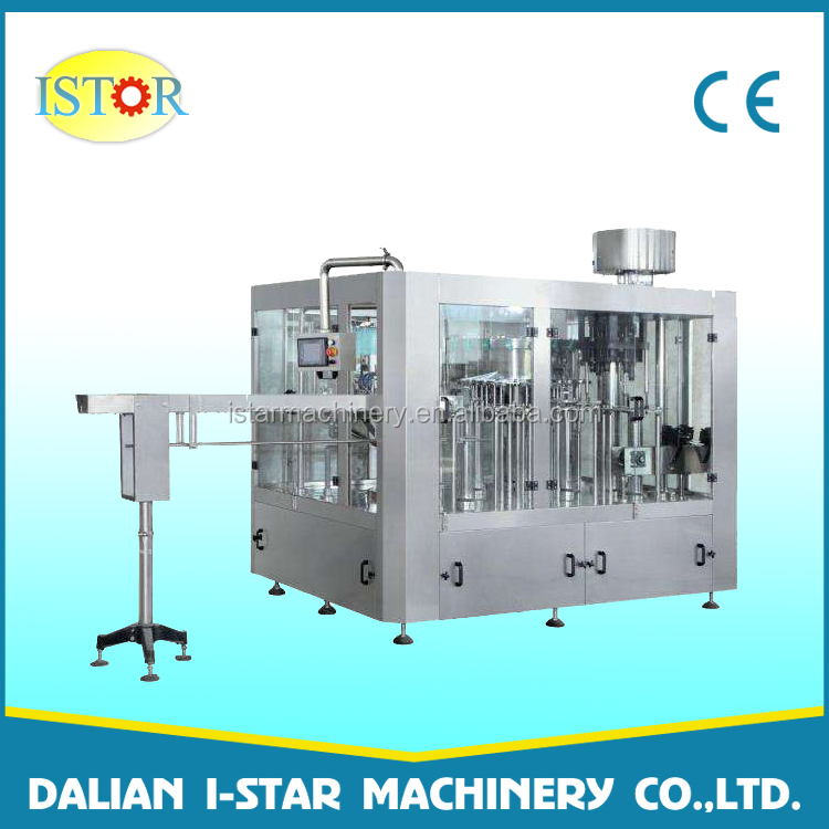 Automatic filling capping 250ml 500ml mineral water plant