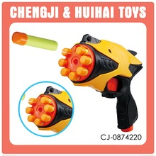 Super Power shooting plastic toy sponge bullet gun