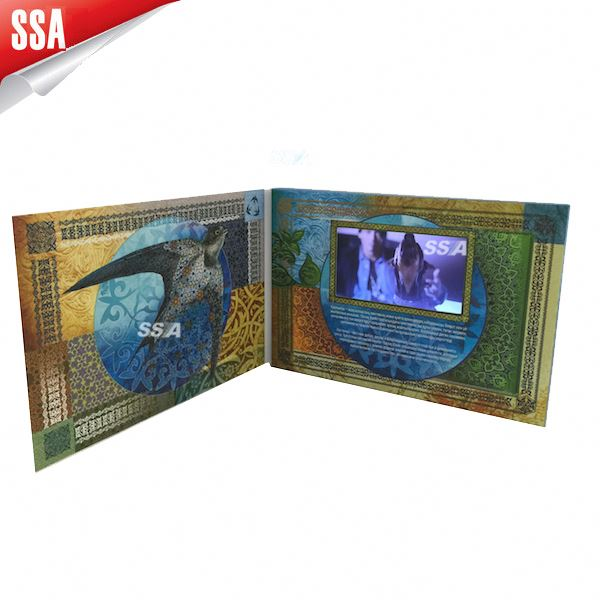"1.8/2.4/2.8/3.5/4.3/5/7/10"" tft lcd video business card/ video in print/video print card"