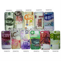 2013 New matte plastic hard back cover English pound money case for iphone 4 4s
