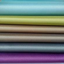 Polyester satin blackout curtain lining fabric