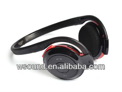 Neckband Stereo bluetooth headset with memory card TF500