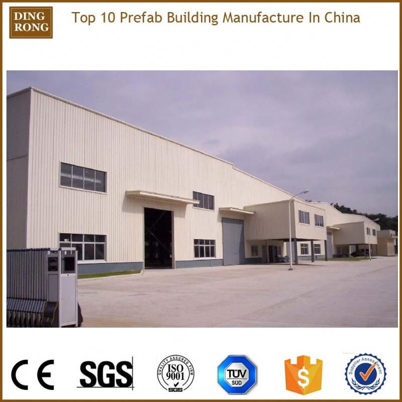 rapid construction affordable premade pre fab steel warehouse