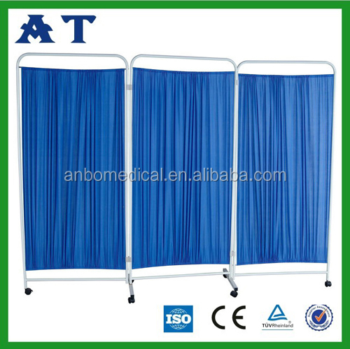 hospital Folding screen room dividers, non magnetic