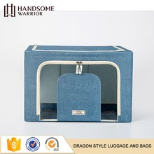 Recycled cheap wholesale custom Oxford cloth waterproof Folding fabric storage box