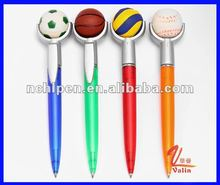 sports promotional plastic ball pen