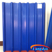 Alibaba Color Stable pvc corrugated tile roof/Fire Proof plastic roofing tiles/Good Water Resistance corrugated roofing sheets