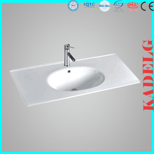 Traditional Design Ceramic Cabinet Bathroom Basin