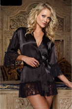 New arrival hot sale nightdress women sexy lace wholesale pajamas nightgown