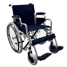 Silver Self-propelled Standard Manual Wheelchair BME4617S