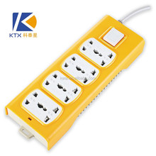 8 Way Wall Multiple Secure Electrical Socket