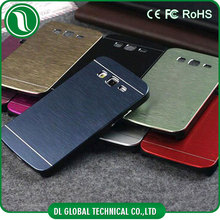 High quality PC and aluminum brushed alloy impact motomo phone case for samsung j7