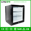 LBC-42AA side by side refrigerator display fridge glass door refrigerator