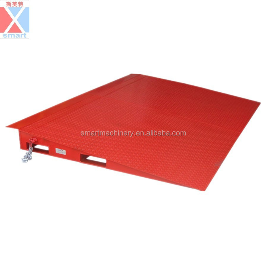 8T Container loading dock ramp leveler,manual dock leveler