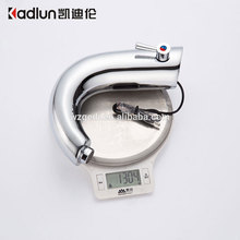 Custom Logos fashionable design brass sensor faucet deck mounted automatic faucets