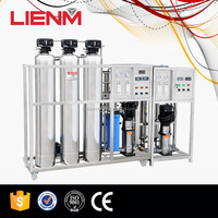 Cosmetic Industrial RO Water Purifier Mobile Water Treatment Plant