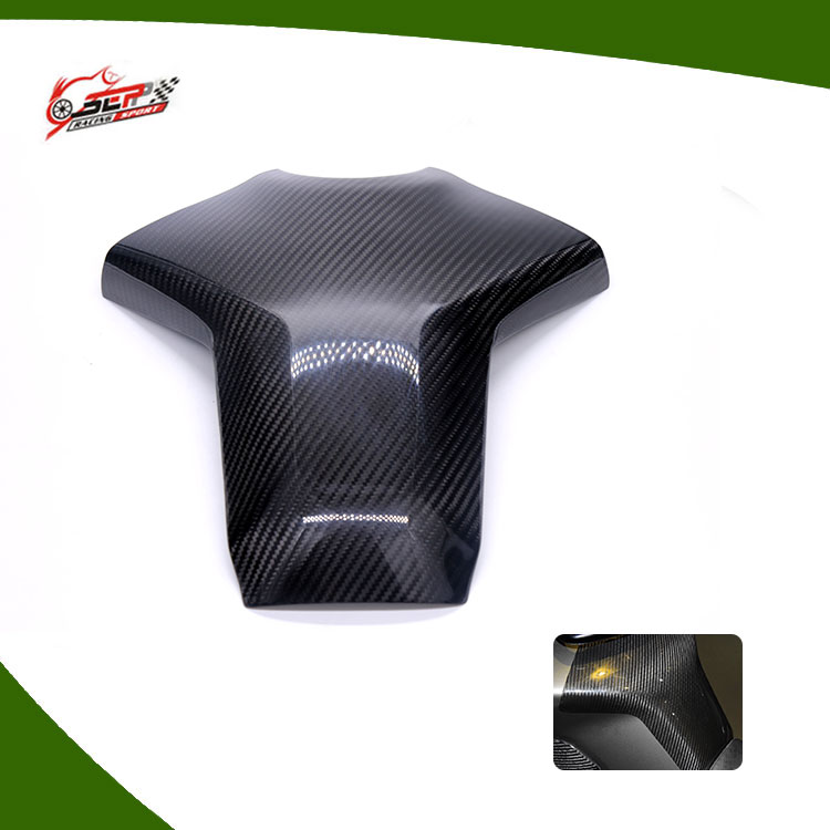 Carbon Fiber Fuel Gas Tank Cover Protector For Yamaha mt09